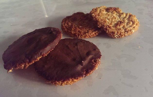 Biscuits à l'avoine diététique