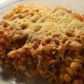 Gratin blé tomates weight watchers recette cookeo |