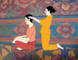 thai massage, Madrid