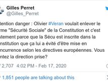 LA SECU : vigilance, méfiance face au nouveau ministre de la santé, ex socialiste qui voulait modifier la constitution !