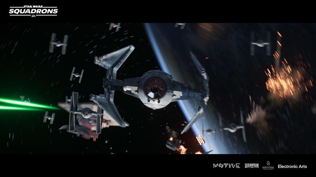 EA GAMES - Découvrez le court-métrage de Star Wars Squadrons -  Traqué !