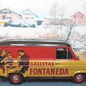 FASCICULE N°47 FORD TRANSIT MK1 GALLETAS FONTANEDA GALETTES ESPAGNOLES 1/43 IXO - car-collector.net