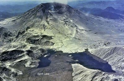End of May at Mt. St. Helens.