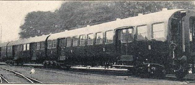 La rame articulée des chemins de fer du Nord