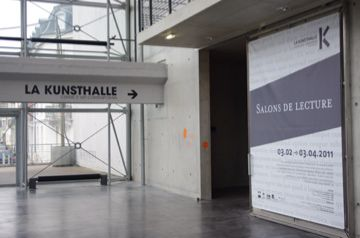 La Kunsthalle en Alsace, on se pose dans les Salons de Lecture