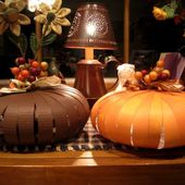 Sweet Bee Buzzings: Paper Pumpkins How-To
