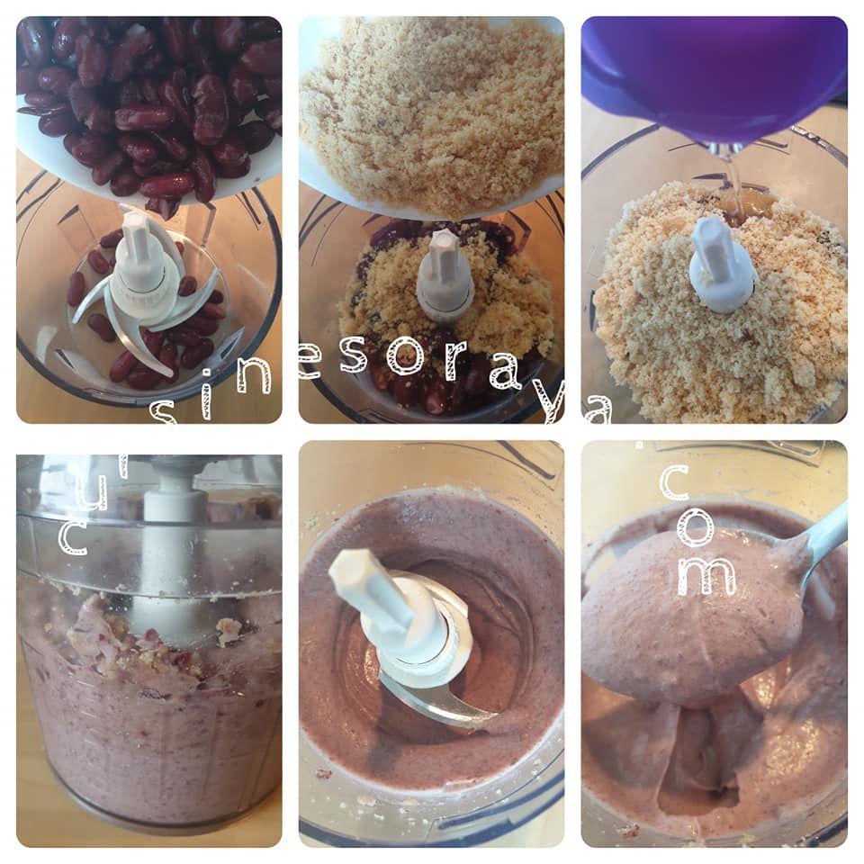 Fondant chocolat à base d'haricots rouges