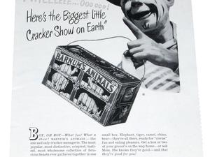 publicités pour les biscuits animaux
