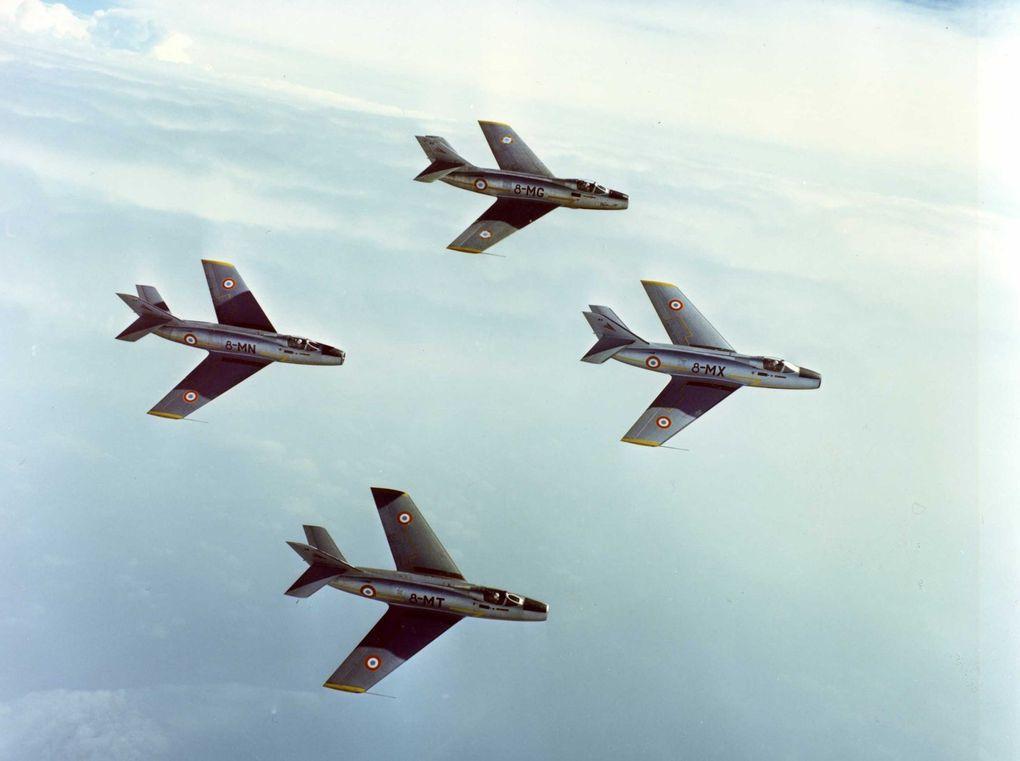 Ces photos ont été prises par Bruno Piettre aux commandes d'un Mirage IIIR spécialement équipé en pellicule couleur lors d'une campagne de présentation de tous les avions de l'armée de l'air en 1972/73