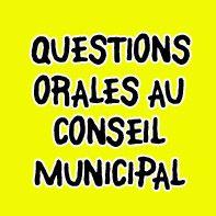 Question Orale : CM du 12 Octobre 2021