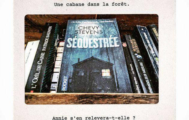Book'n'furious : Séquestrée - Chevy Stevens