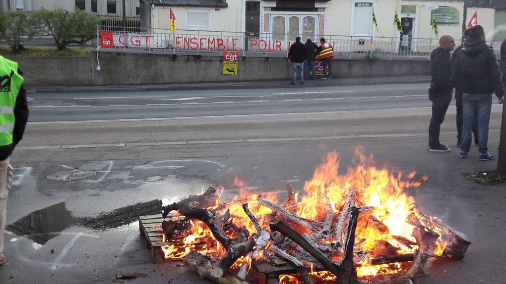 Journée du 3 mai 2018 Piquet pôle social-ag et barbecue en images