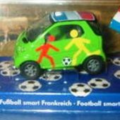 MERCEDES SMART SIKU 1/50 ALLEZ LA FRANCE COUPE MONDE FOOT 1998 - car-collector.net