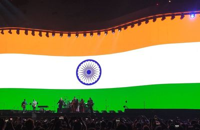 U2 -Joshua Tree Tour 2019 -15/12/2019 -Mumbai -Inde -DY Patil Stadium