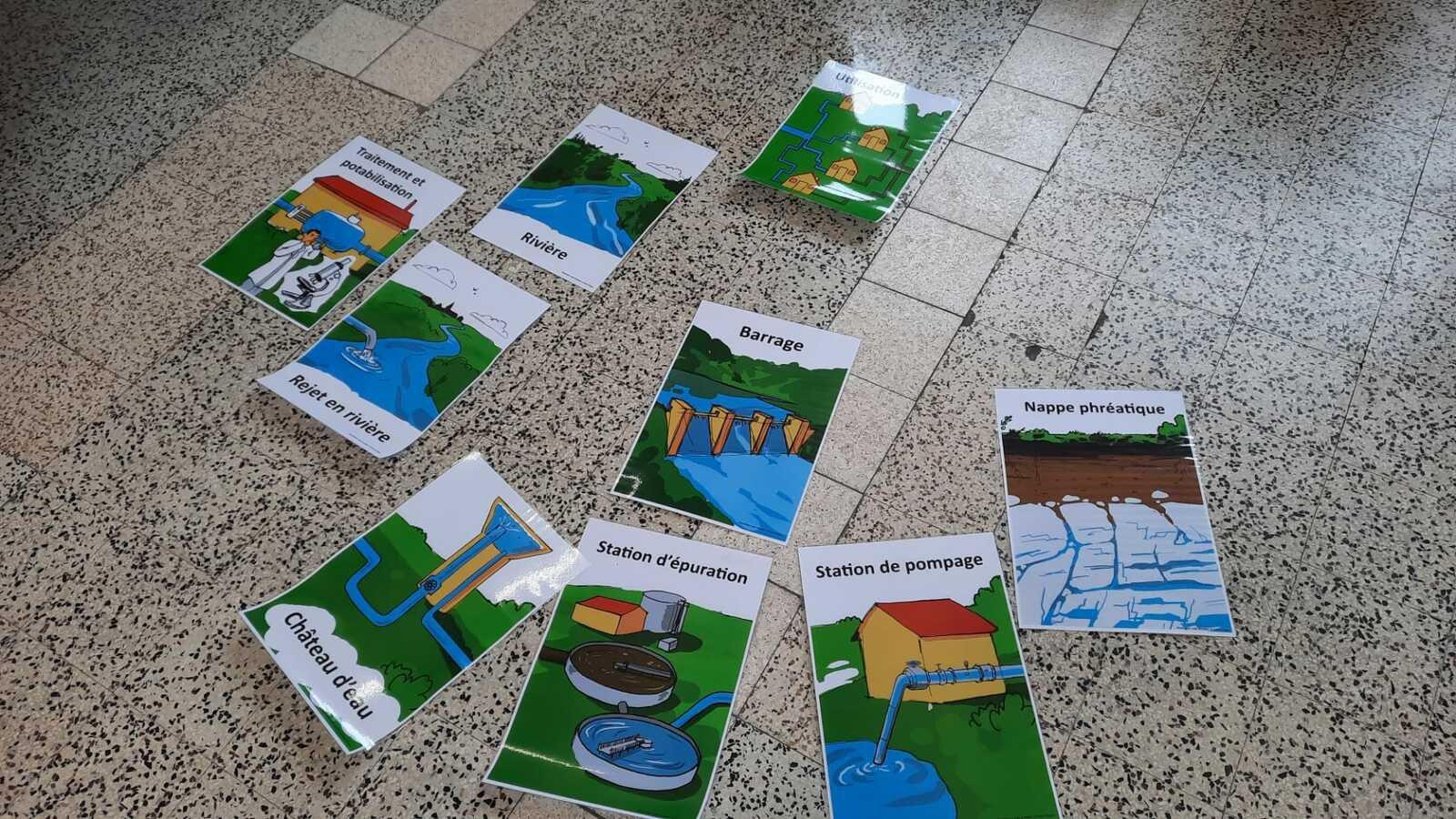 Animation sur les nappes phréatiques pour les élèves de P4
