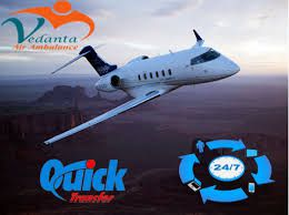 Get On-Call and Immediate Vedanta Air Ambulance Service in Kochi and Rajkot with Well-Educated MD Doctor