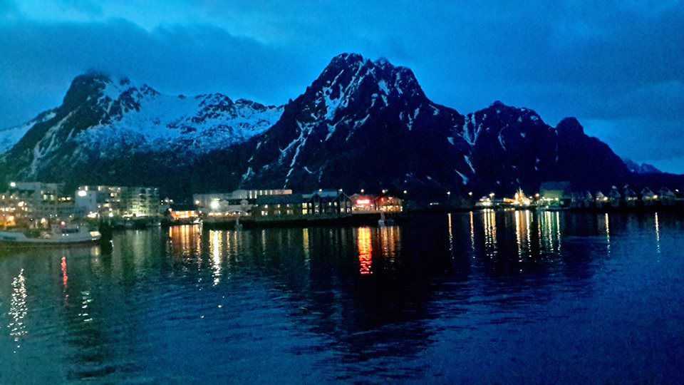 Annie Blin en Norvège...