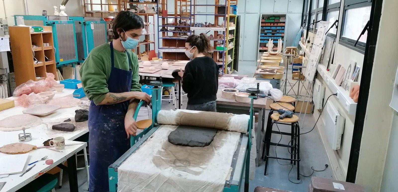 La céramique à l'honneur avec Pablo Grand Mourcel et l'école d'art Claude Monet à Aulnay-sous-Bois