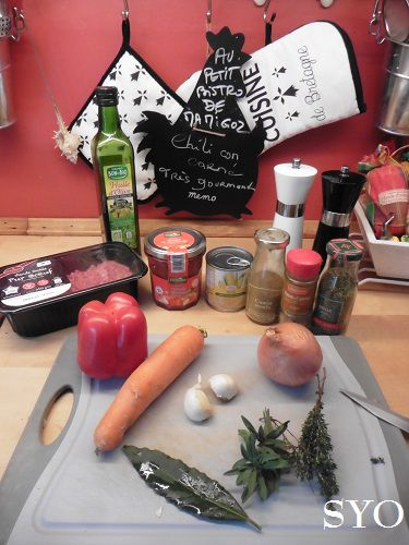 Mon Chili Con Carne gourmand, au Cookeo Touch