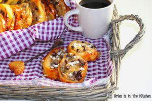 Escargots Caramel Beurre Salé et Pépites de Chocolat