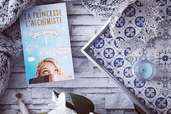 La princesse et l'alchimiste, tome 1 : l'antidote - Amy Alward