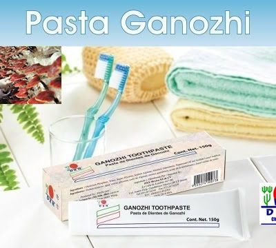 Pasta dental con Ganoderma