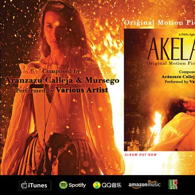 AKELARRE (COVEN) Original Motion Picture Soundtrack - GOYA 2021 Nominee
