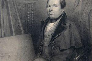 Louis Ducornet, artiste qui peint avec ses pieds chez Géraldine