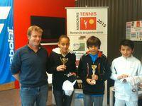 Palmarès tournoi jeunes