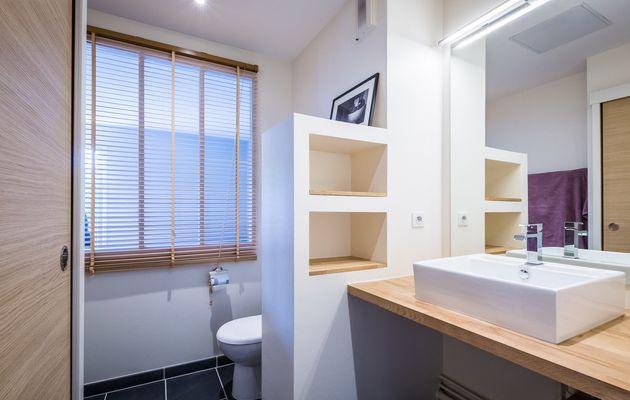 Une salle de bain zen