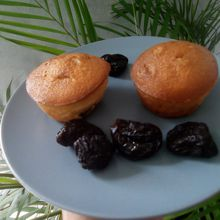 Gâteau au yaourt aux pruneaux