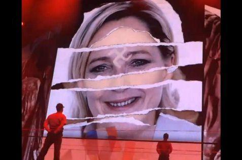 Le Pen pousse sa fille soi-disant appelée « Marine » à réclamer 1 million de dollars à Madonna ! Jaloux, va !