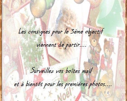 "SAL ""BOTTES DE NOEL"" - 3ÈME OBJECTIF"