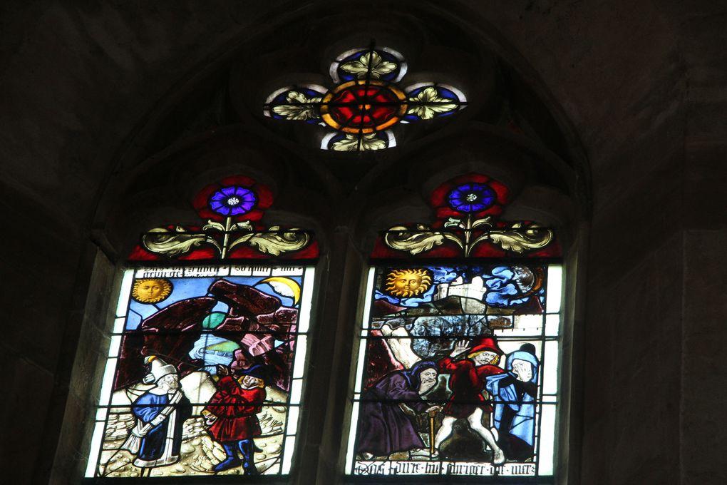 Sur la Route Romane d'Alsace:Walbourg, église abbatiale Sainte-Walpurge