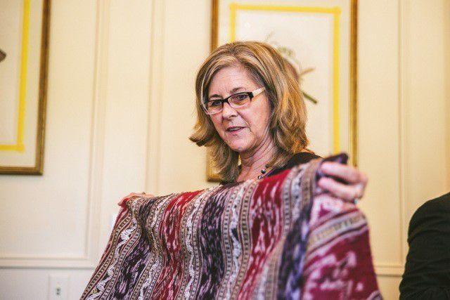 Meet Julia Brennan, Caring for Textiles