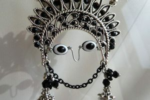 Mama Kilya - Collier talisman réglable et sa déesse protectrice inca au style ethnique chic