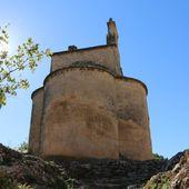 A Peyrolles: visite de la chapelle Saint-Sépulcre du 12ème siècle avec ses fresques - Hélène SF