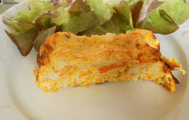 Cake de légumes au surimi