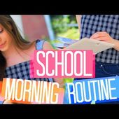 Morning Routine for School!! 2017