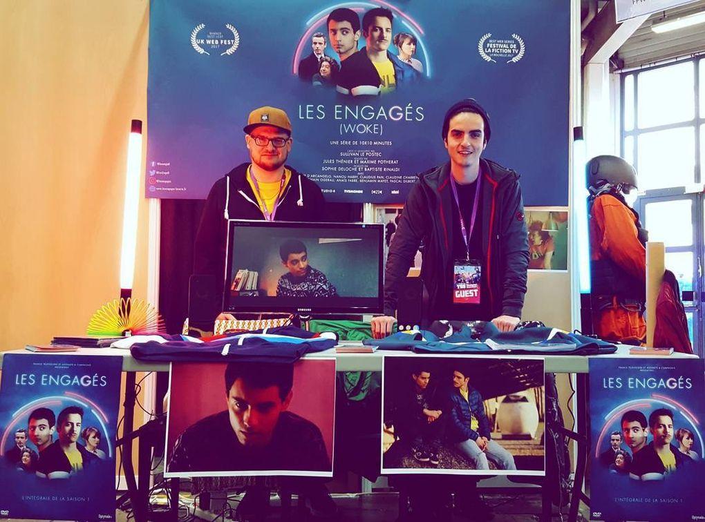 Les Engagés remporte trois prix au FFW dont Meilleure Websérie !