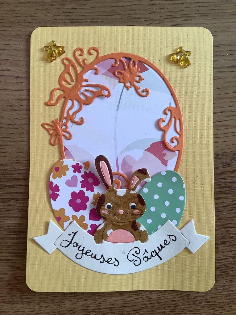 Cartes de Pâques pour nos voisins !