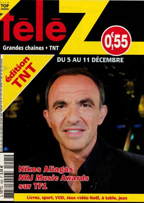 La une des nouveaux numéros de la presse TV : JPP, M Pokora, Laëtitia Milot...