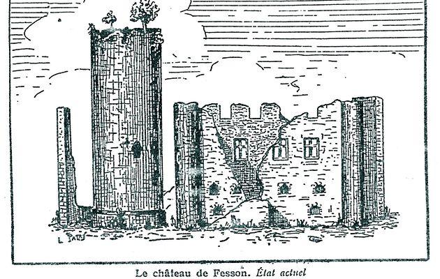 Le château de Feissons