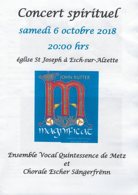 Magnificat 2018 - Dernière représentation au Luxembourg