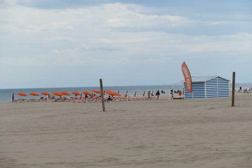 Début juin à la plage