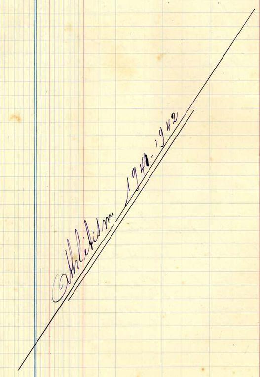 Album - Licencies-Athletisme-1938-a-1945