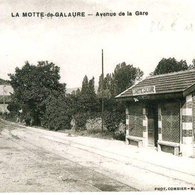 Gare de La Motte-de-Galaure (26)