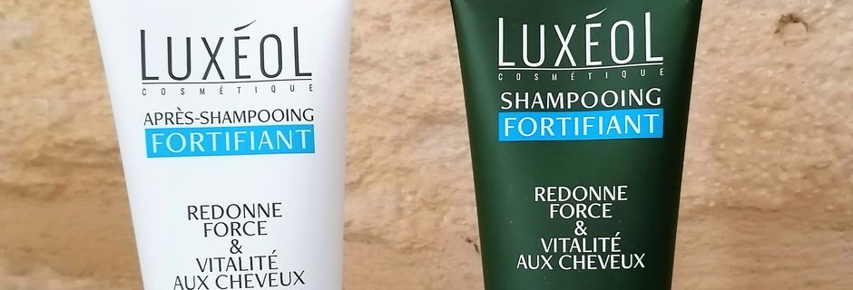 Shampooing fortifiant & Après-shampooing fortifiant Luxéol