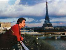 Alain Delon à Paris en ce moment