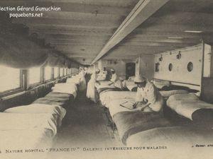 Paquebot ''France'' de 1912 - Versailles sur les mers